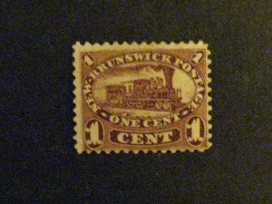 New Brunswick #6  unused  c203 38