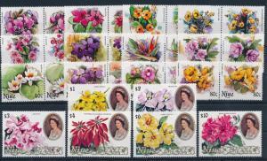 [62717] Niue 1981 Flora Flowers Blumen 30 Values MNH