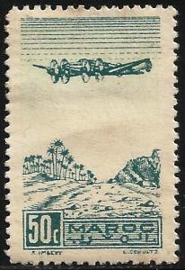 French Morocco Air Mail 1944 Scott# C31 Used