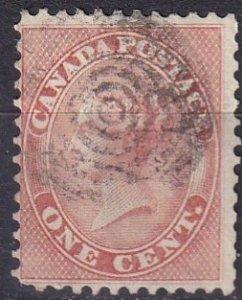 Canada #14   F-VF Used  CV $90.00  (Z6514)