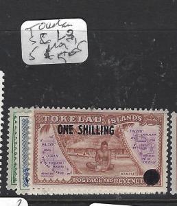 TOKELAU ISLANDS   (P1909B)    SC 1-3, 5   MOG