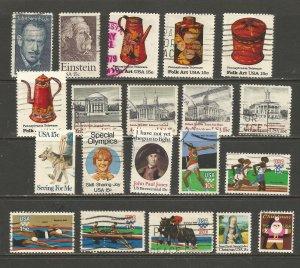 USA Postage Stamps Used 1979,1980