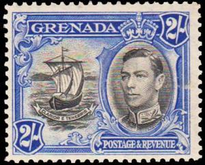 Grenada Scott 140 Unused lightly hinged.
