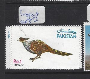 PAKISTAN  (PP1402B)  BIRD SG 492-6   MOG