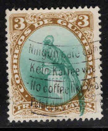Guatemala  Scott 295 used Bird stamp