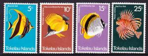 Tokelau MNH 45-8 Fish Marine Life 1975