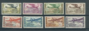 French Equatorial Africa C1-8  MLH cgs