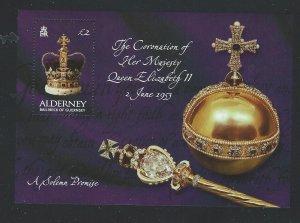 Alderney souvenir sheet mnh s.c.#  202