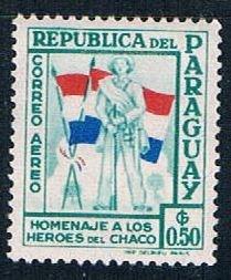 Paraguay Soldier 50 - pickastamp (PP9R502)