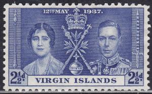 British Virgin Islands 75 Common Design 302 1937