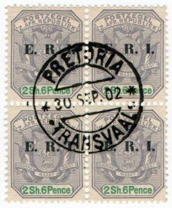 (I.B) Transvaal Postal : ERI Overprint 2/6d