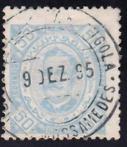 Angola Scott 30b Used.