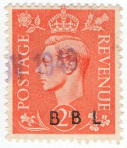 (I.B) George VI Commercial Overprint : Brown Brothers Ltd