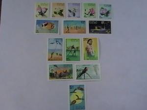 NAURU # 91-104-MINT/NEVER HINGED-COMPLETE SET----QEII----1973