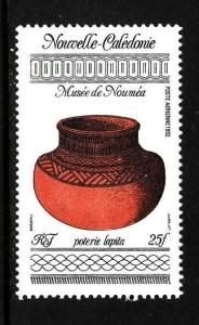 New Caledonia-Sc#C229-unused NH airmail-Native Pottery-1992-