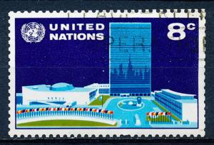 United Nations - New York #222 Single Used