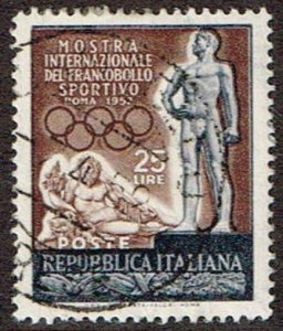 Italy # 599 Used