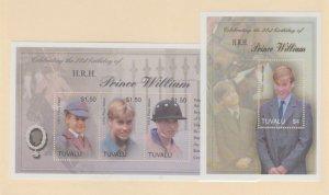 Tuvalu Scott #915-916 Stamps - Mint NH Souvenir Sheet Set