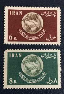 Middle East,worldwide,p,1958MNH* Human Right Day , Shah,pArs