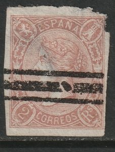 Spain Sc 67 used faulty/thins