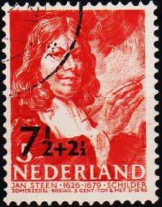 Netherlands. 1940 7 1/2+2 1/2c on 5c+3c. S.G.521 Fine Used