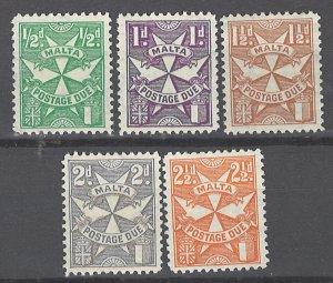 COLLECTION LOT # 1969 MALTA #J11-15 MH 1925