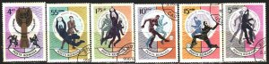 Romania. 1966. 2493-98. FIFA World Cup in England. USED.