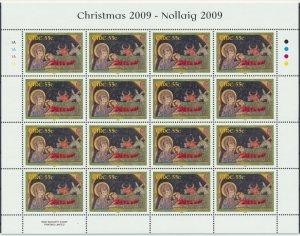 [I775] Ireland 2009 Christmas good set of 2 sheets VF MNH Face Value 21.92€