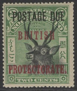 NORTH BORNEO SGD50 1906 2c BLACK & GREEN p16 MNH