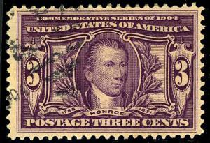 U.S. #325 Used F-VF