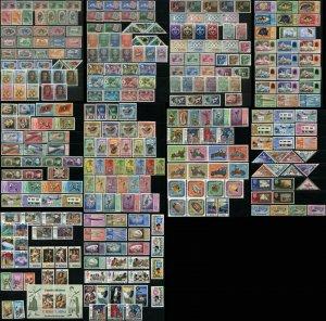 MALDIVE ISLANDS Postage ASIA Stamp Collection 1960-1971 Mint LH NH OG