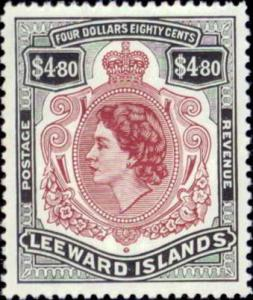 Leeward Islands 147 mnh