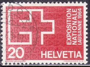 Switzerland 431 USED 1963 Swiss National Expo