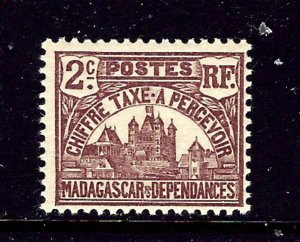 Malagasy J8 MH 1908 issue