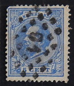 Netherlands, 1872-1888, King William III of the Netherlands, (2101-Т)