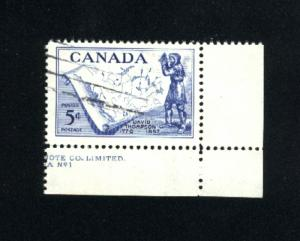 Canada  370  -2   used VF PD 1957