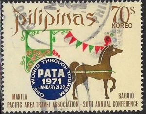 Philippines 1085 Used - ‭Pacific Travel Association (PATA)