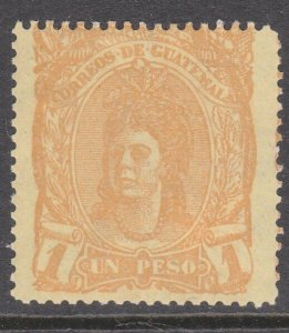 GUATEMALA  An old forgery of a classic stamp................................D821