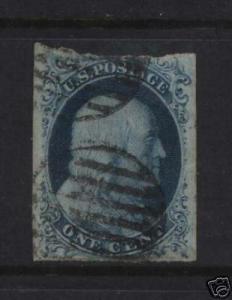 USA #7 VF Used