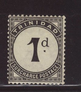 1923 Trinidad 1d Postage Due Wmk Script Mint With Unlisted Break in D SGD18var