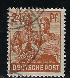 Germany AM Post Scott # 565, used