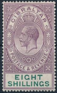 Gibraltar stamp Definitive 1912 MNH Mi 73 WS222046