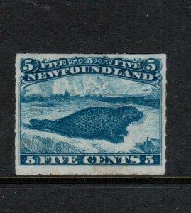 Newfoundland #40 Very Fine Mint Original Gum Lightly Hinged