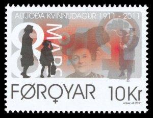 Faroe Islands 2011 Scott #548 Mint Never Hinged