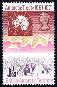 BAT 1971 Scott # 39-42 MNH