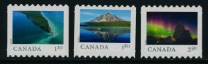 Canada 3067iii-9iii MNH Far & wide, Point Pelee National Part, Arctic Bay