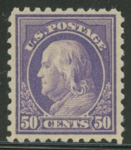 #440 50c 1915 VF+ OG NH WITH PF CERT CV $1,050+ WLM8155