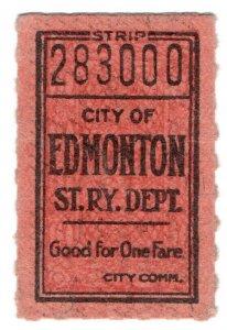 (I.B) Canada Railway : Street Railway (Edmonton)