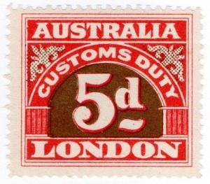 (I.B) Australia Revenue : Customs Duty 5d