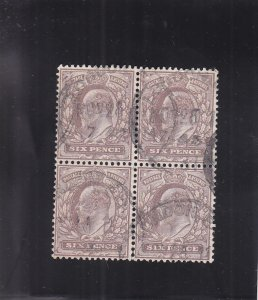 Great Britain: Sc #135, Blk/4, Used (S17929)